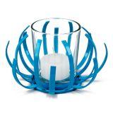 Castiçal Ferro Azul Kz Home 8x12