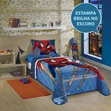 Colcha Infantil Matelassê Estampada Spider Man - Lepper