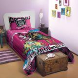 Colcha Matelassê Estampada Monster High Padrão 1 - Lepper-Monster High