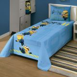 Colcha Simples Minions 150x200 Lepper