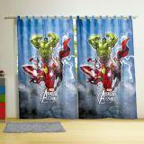 Cortina Com Alça Avengers 150 x 220cm 2 Peças