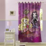 Cortina Com alça Ever After High 1 Peça 150x220 Cm