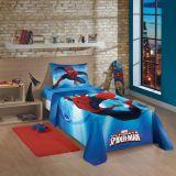 Jogo Cama Spider Man Ultimate 3 Peças Azul