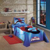 Jogo cama Solteiro Spider-Man Ultimate 80% Algodão Lepper