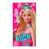 Toalha Aveludada Barbie Rock Royals 75X140 Cm