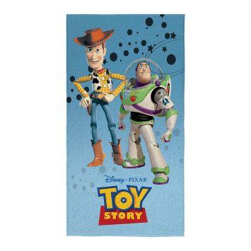 Toalha Aveludada Transfer Toy Story 75x140 cm Lepper Toy Story
