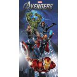 Toalha Infantil Aveludada - Avengers