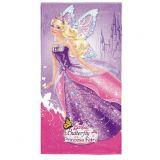 Toalha Infantil Aveludada - Barbie