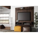 Estante Home Theater com Nichos Capri - Chocolate