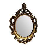 Espelho de Parede Veneziano 80x60 Ouro Velho Luca Millani