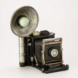 Cofre Camera Fotografica Vintage 17,3cm Lyor Classic