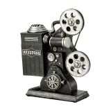 Cofre Projetor de Filme Vintage 21,9cm Lyor Classic