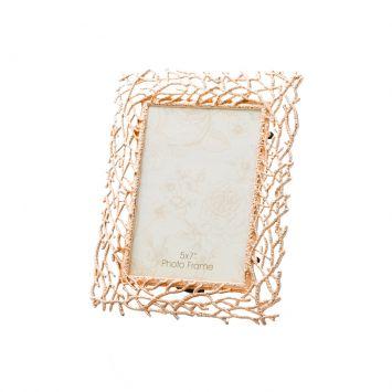 Porta - Retrato Rose Gold de Zamac 13x18 cm Lyor Classic 3687