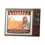 Porta Retrato de Vidro 10X15cm Movie Lyor Classic