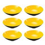 Jogo 6 Bowl Amarelo 17Cm