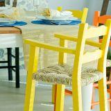 Cadeira Refeição Mão e Formão Pestre Amarelo