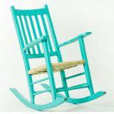 Cadeira de Balanço Mão e Formão Pestre Azul