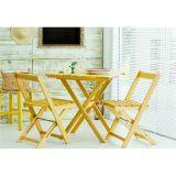 Jogo de Mesa com 2 Cadeiras Dobráveis Boteco - Amarelo