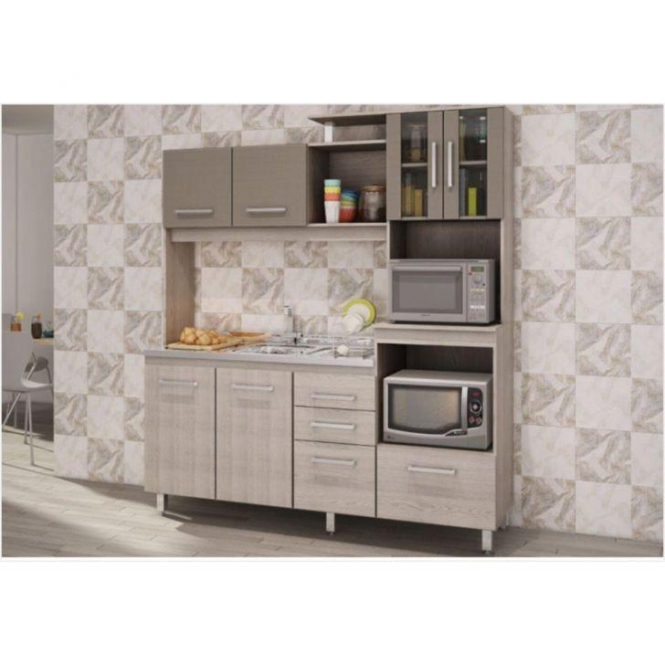 Cozinha Compacta Colormaq Eclipse Plus 3 Peças Paneleiro, Armário Aéreo e Ar # Cozinha Compacta Colormaq Eclipse