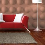 Tapete Shaggy Lotus Cobre 150x200 cm