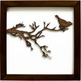 Quadro Decorativo - Modelo Pássaro