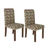 Conjunto 2 Cadeiras 4157 Crema E Jamy