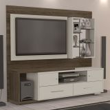 Home Theater Estocolmo Bege e Carvalho Madetec