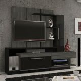 Home Theater Igor Grafite & Preto Madetec
