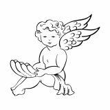 Adesivo Decorativo Angel Prata 90x81cm Magia Decor