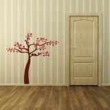 Adesivo Decorativo Birds Tree Marrom 122x120 cm Magia Decor