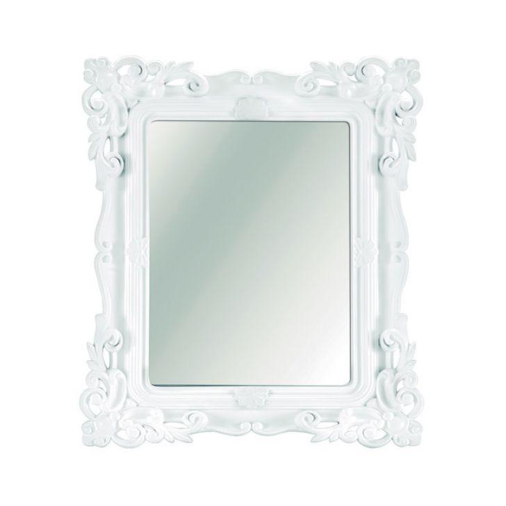 Espelho Branco 13x18 cm DESCONTO DE R$: 2,69 (9,09% OFF) - OFERTA MOBLY