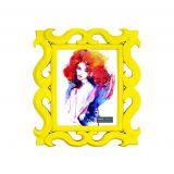 Porta-Retrato Amarelo 13x18