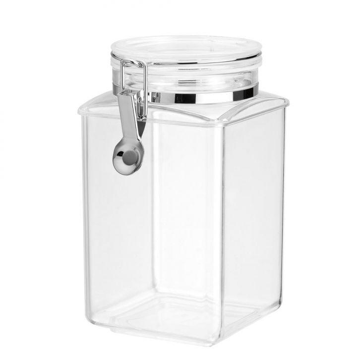 Pote Hermético Plástico com Tampa em Acrilico 1,4 Litros Mart DESCONTO DE R  3fdd9c253c