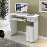 Mesa/Escrivaninha Para Computador Dalian Plus Branco - Mavaular Móveis