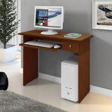 Mesa/Escrivaninha Para Computador Dalian Plus Castanho - Mavaular Móveis