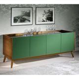 Balcão Buffet Novita 323-0527 Verde Musgo Maxima