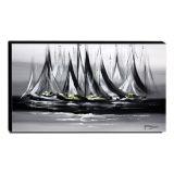 Quadro Decorativo Canvas Abstrato 60x105cm-QA-36