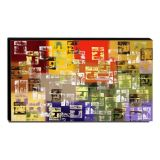 Quadro Decorativo Canvas Abstrato 60x105cm-QA-74