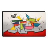 Quadro Decorativo Canvas Abstrato 60x105cm-QA-75