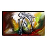 Quadro Decorativo Canvas Abstrato 60x105cm-QA-99