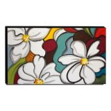 Quadro Decorativo Canvas Floral 60x105cm