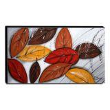 Quadro Decorativo Canvas Folhagens 60x105cm