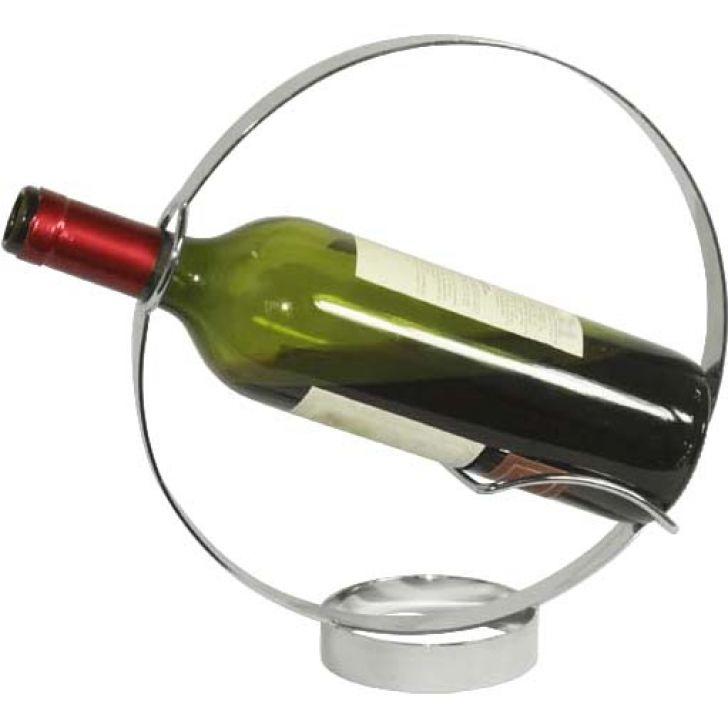 Suporte Para Vinho Black Tie Prata