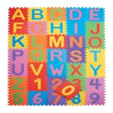Tapete Infantil Eva 150x210 Alfanumérico - 36 Peças 30x30 Mingone