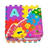 Tapete Infantil Eva 35 x 56 cm Cubo Alfanumerico - Mingone