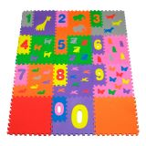 Tapete Infantil Eva 80 x 60 cm Tap Brinque Números - Mingone