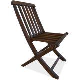 Cadeira Dobrável Golden sem Braço Nogueira