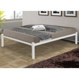 Cama Casal Turca Branca M.collection