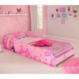 Cama Infantil Barbie Plus 3A Rosa