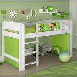Cama Infantil Ben 10 Play Branco